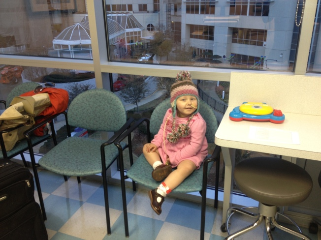 wating to be admitted for chemo.